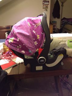 Recovered car seat canopy! - By, Jenilee