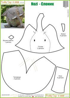 Nozi Elephant template