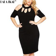 >>>Smart Deals forPlus Size 4XL 5XL 6XL 7XL Dresses Women Summer Dresses Woman Choker Dress Girl Sexy Club Dress Female Big Size Party Vestidos 73-in Dresses from Women's Clothing