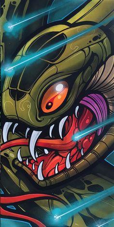 Image of Laser Snake