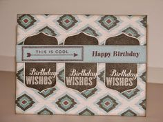 """Stamping with """"MOO"""": CTMH Jackson Card"""