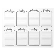 Week Planer, Minimalist Bullet Journal, Weekly Calendar Template, Printable Calendars, Schedule Calendar, To Do Planner, College Planner, College Tips, Meal Planner