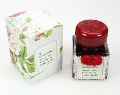 Scented ink from Italy. Want to learn calligraphy so I can use this!