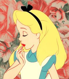Inspiring image alice, alice in wonderland, cute, flowers - Resolution - Find the image to your taste Walt Disney, Disney Love, Disney Magic, Disney Art, Disney Pixar, Disney Characters, Disney Bound, Disney Animation, Alice Disney