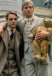 Charles and Sebastian from the miniseries - not the movie- of Evelyn Waugh's novel, Brideshead Revisited.