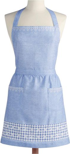 Martha Stewart Collection Chambray Apron, Created for Macy's
