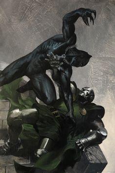 gabrieledellotto:  Black Panther #1 Bulletproof variant