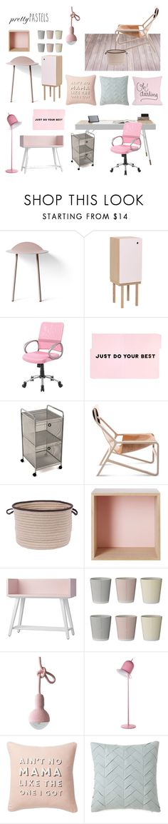 """Pretty Pastels"" by taci42 ❤ liked on Polyvore featuring interior, interiors, interior design, home, home decor, interior decorating, Menu, Ex.t, BoConcept and Boss Chairs"