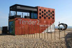 A Pop-Up Hotel: Tender2 by Royal Botania