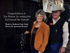 Congratulations to Sue Marxer for winning the 2nd Annual MSGA Film Festival, as part of the Montana Family Ranching Project! Much thanks to Northwest Farm Credit Services for sponsoring the prize!