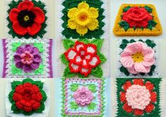 This e-book contains 11 of my bestselling patterns of floral blocks!Chinese Rose in squareDaffodil in granny squareFlower in granny square 1Flower in granny square 2Flower in granny square 3Pansy in squarePeony in squarePoinsettia in squarePoppy in granny squareRose in squareLD-0121 Afghan BlockEnjoy!