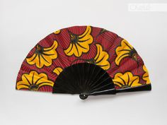 Spanish hand fan  African Baroque by Olele