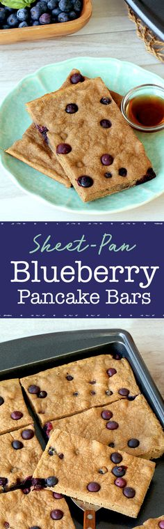 Make-ahead breakfast! These bars are ideal for busy weekday mornings… They're made in a sheet-pan to make life even easier! 1 bar: 181 calories | 2g fat | PIN!