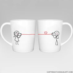 Say I Love You Too™ Coffee Mugs