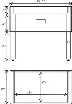 Build A Foosball Table Legs To Base Click To Enlarge
