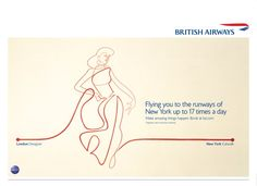 Oneline illustration got the new British Airways campaign. With BBH LONDON