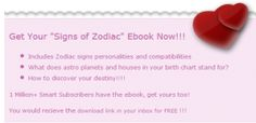 "FREE Zodiac Signs Ebook... Also, check out radio3way's free ""edgy education"" podcast at radio3way.com and iTunes. I hope you enjoy!!!"