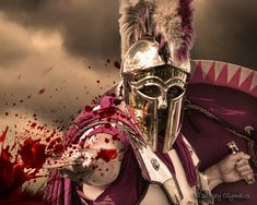 Ancient Spartan Soldiers   Spartan soldier doing what they do best. - a photo on Flickriver