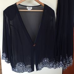 Skirt and jacket for an evening night out! Size 16 For a night out or a mother of a bride. Very nice midi skirt with a matching jacket. Dresses
