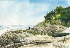 Beaufort Beach by Paula Nathan