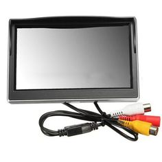 """AUTO New 5"""" 800*480 TFT LCD HD Screen Monitor for Car Rear Rearview Backup Camera"""