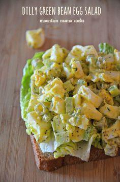 ... Egg Salad - Deviled Egg Salad Sandwiches - Jalapeno, Caper, and