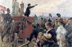 Erik Henningsen (1855-1930): En agitator (An agitator), 1899