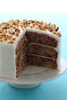 This sounds and looks good, but I never have any luck with layer cakes ...Chiquita Bananas, pineapple and nuts combine in this lighter version of the classic Southern favorite, Hummingbird cake.