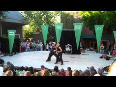 OREGON SHAKESPEARE FESTIVAL ~ Four ninja acrobaticalists called Nanda perform 'The Jacket'.