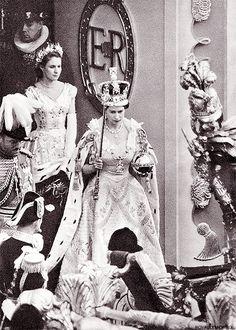2 June 1953 | Queen Elizabeth II leaves Westminster Abbey on her coronation day.