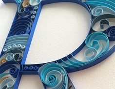 """Check out new work on my @Behance portfolio: """"Quilling Monogram R"""" http://be.net/gallery/32104437/Quilling-Monogram-R"""