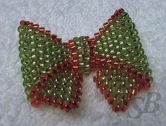 Peyote Bow (pattern on website)