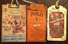 Polo Ralph Laurent hang tags