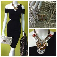 Excelente opción #blackdress #ootd #instafashion