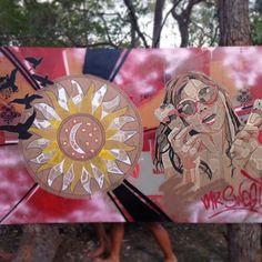 Hello Sunshine Festival live art work 2013