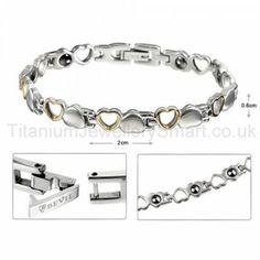7.5 Inches Titanium Bracelet
