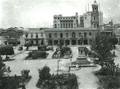 Otra vista de Parque Colón. Cerca 1920