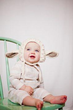 Lamb hat.