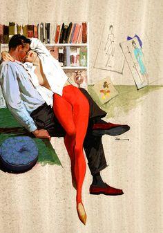 Материнский архетип, доминирующий над мужчиной, проявляется как зависимость от женщины как сексуального объекта.