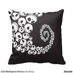 Modelo de Jack Skellington Cojines, home decor, decoración #cojín #pillow #gifts