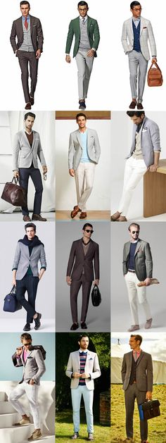How To Layer In Summer - Men's Knitwear - Smart/Formal Outfit Inspiration Lookbook
