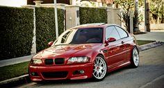BMW E46 M3 on BBS CH