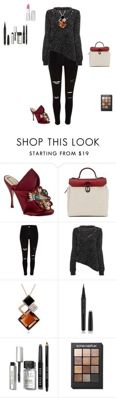 """Untitled #126"" by aoxue ❤ liked on Polyvore featuring moda, N°21, Jam Love, Marc Jacobs, Bobbi Brown Cosmetics, Sonia Kashuk, HoneyBee Gardens, women's clothing, women y female"