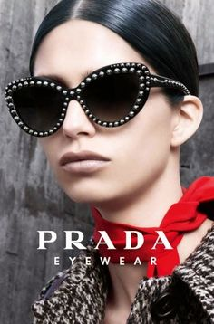 0d5268f4dc290 Prada Eyewear Fall Winter 2014-2015 Campaign Specs