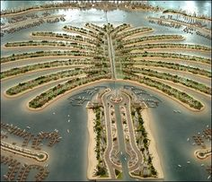 The Palm Dubai  where we lived a few years back while husband was involved in building a hotel on the crescent of the Palm.