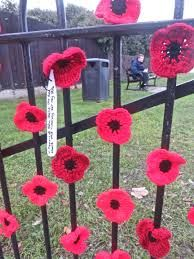 knitted remembrance poppies - Google Search