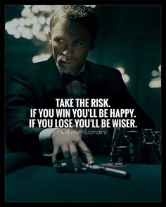 I've compiled a list of 23 positive thinking quotes , which you should definitely read to destroy and overcome negativity wit. Wisdom Quotes, Quotes To Live By, Me Quotes, Qoutes, Quotes On Success, Risk Quotes, Success Images, Revenge Quotes, Hustle Quotes