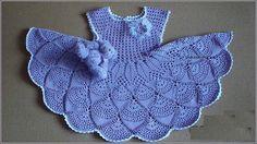 crochet dress for girl pattern pdf
