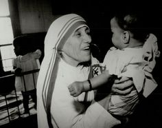 "Inspirational quotes by famous women: MOTHER TERESA ""Not all of us can do great things. But we can do small things with great love."""