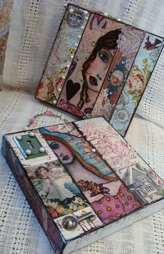 diane salter Would make a lovely art journal.
